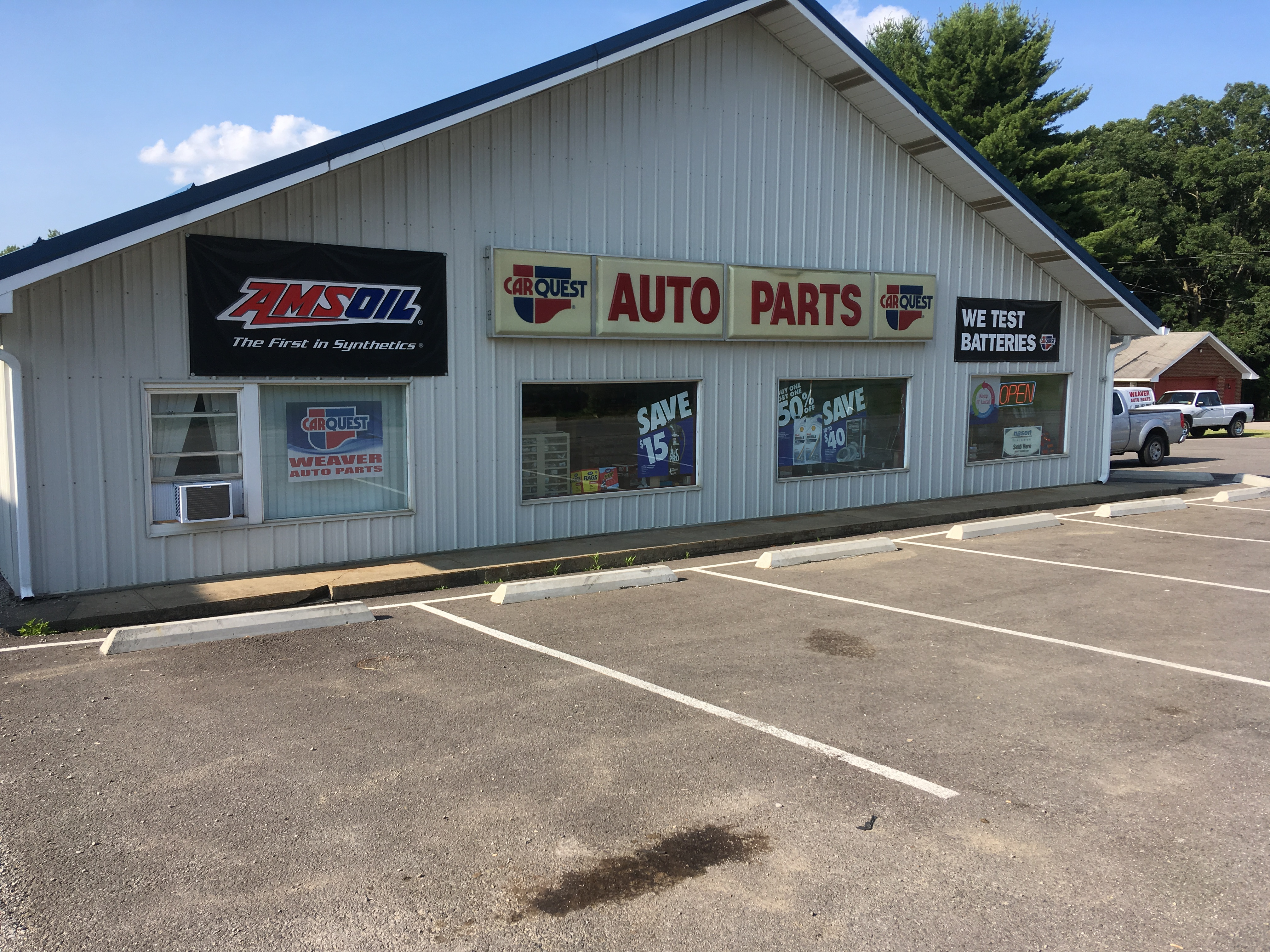 Weaver Auto Parts >> Weaver Auto Supply Amsoil Buy Local